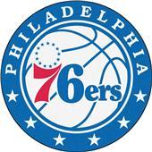 Fan Mats NBA Philadelphia 76ers Roundel Mat