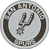 Fan Mats NBA San Antonio Spurs Roundel Mat
