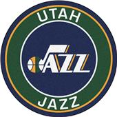 Fan Mats NBA Utah Jazz Roundel Mat
