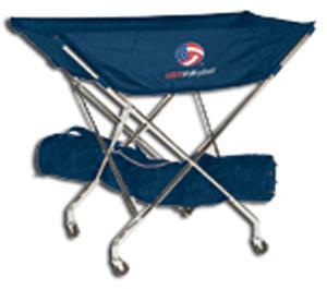 Tandem Sport USA Volleyball Drill Cart USA Logo