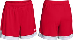 Under Armour Womens Girls Maquina Soccer Shorts