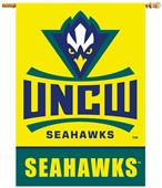 "College UNC Wilmington 2-Sided 28""x40"" Banner"