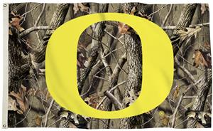 Collegiate Oregon Ducks Realtree Camo 3' x 5' Flag