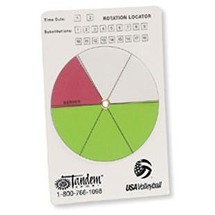 Tandem Sport USA Volleyball Rotation Locator