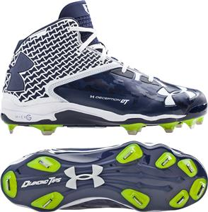 Under Armour Mens Deception Mid DT Cleats