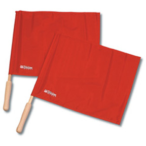 Tandem Volleyball Linesman Flags/Solid (Set of 2)