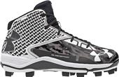 Under Armour Mens Deception Mid Baseball Cleats