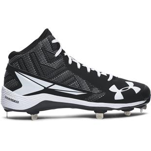 Under Armour Mens Yard Mid ST Baseball Cleats