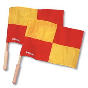 Tandem Soccer Linesman Flags/Bi-Color (2)