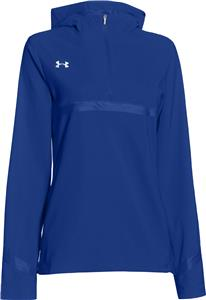 Under Armour Womens Pregame Woven 1/4 Zip Jacket