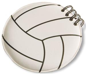 Tandem Sport Volleyball Note Pad
