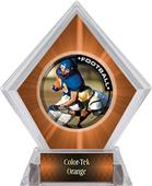Awards PR2 Football Orange Diamond Ice Trophy