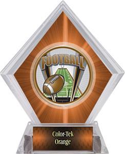 Awards ProSport Football Orange Diamond Ice Trophy