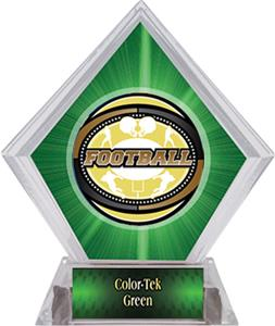 Awards Classic Football Green Diamond Ice Trophy