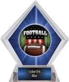 Awards Patriot Football Blue Diamond Ice Trophy