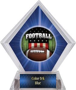 Awards Patriot Football Blue Diamond Ice Trophy