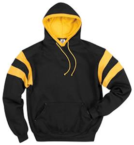 Badger Varsity Colorblock Fleece Hoodies