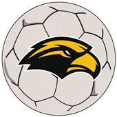 Fan Mats Univ Southern Mississippi Soccer Ball Mat