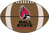 Fan Mats Ball State University Football Mat