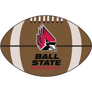 Fan Mats Ball State University Football Mat