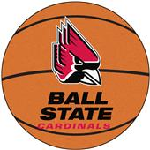 Fan Mats Ball State University Basketball Mat