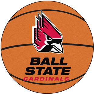 Fan Mats Ball State University Basketball Mat