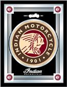 Holland Indian Motorcycle Logo Mirrors