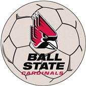 Fan Mats Ball State University Soccer Ball Mat