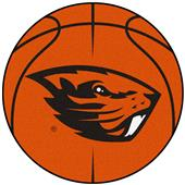 Fan Mats Oregon State University Basketball Mat