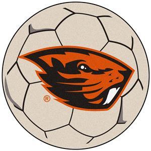 Fan Mats NCAA Oregon State Univ Soccer Ball Mat