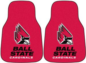 Fan Mats Ball State Univ Carpet Car Mats (set)