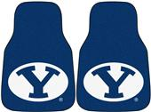 Fan Mats Brigham Young Univ Carpet Car Mats (set)