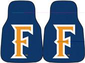 Fan Mats Cal State Fullerton Carpet Car Mats (set)