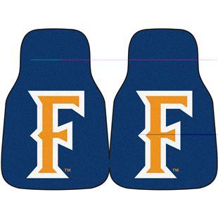 Fan Mats Cal State Fullerton Carpet Car Mats (set)