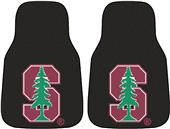 Fan Mats Stanford University Carpet Car Mats (set)