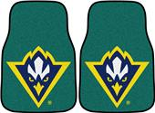Fan Mats Univ NC Wilmington Carpet Car Mats (set)