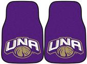 Fan Mats Univ North Alabama Carpet Car Mats (set)