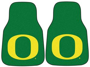 Fan Mats Univ. of Oregon Carpet Car Mats (set)