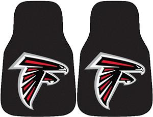 Fan Mats Atlanta Falcons Carpet Car Mats (set)