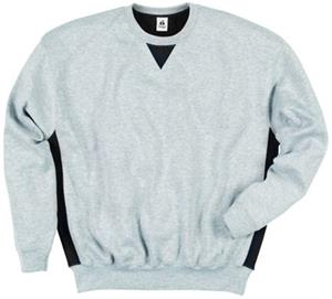 Badger Colorblock Crew Fleece Sweatshirts