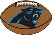 Fan Mats NFL Carolina Panthers Football Mat