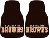 Fan Mats Cleveland Browns Carpet Car Mats (set)