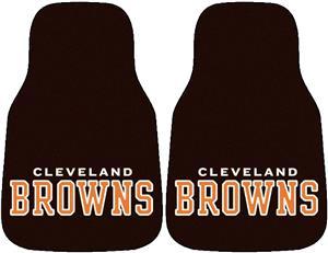 Fan Mats Cleveland Browns Carpet Car Mats (set)