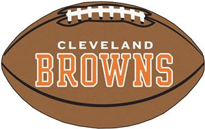 Fan Mats NFL - Cleveland Browns Football Mat
