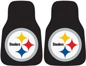 Fan Mats Pittsburgh Steeler Carpet Car Mats (set)