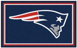 Fan Mats NFL New England Patriots 4x6 Rug