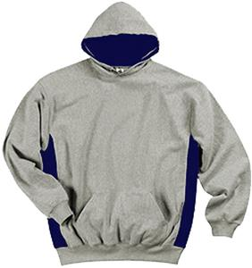 Badger Colorblock Hood Fleece Pullovers-Youth
