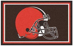 Fan Mats NFL Cleveland Browns 4x6 Rug