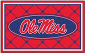 Fan Mats University of Mississippi 4x6 Rug