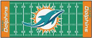 Fan Mats Miami Dolphins Football Field Runner